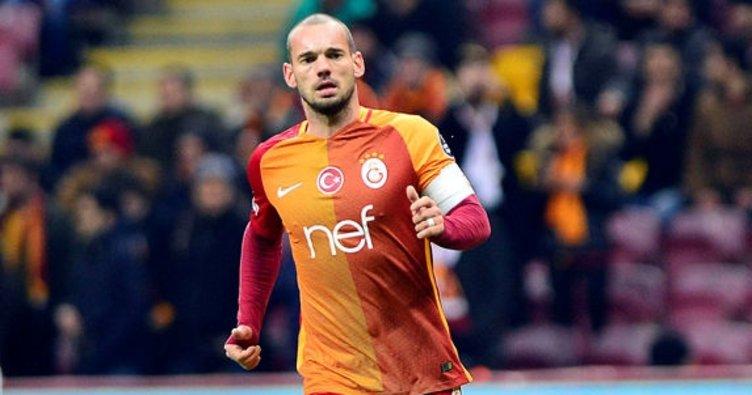 Sneijder giderse 10 numara ve kaptanlık...