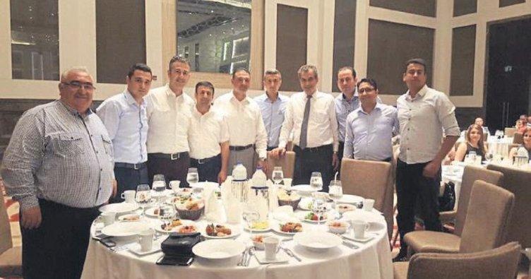 SASA Polyester çalışanları iftar yaptı