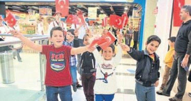 İzmir Park'ta 29 Ekim coşkusu