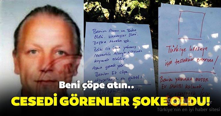 SON DAKİKA: Antalya'da skandal intihar iddiası! Beni çöpe atın..