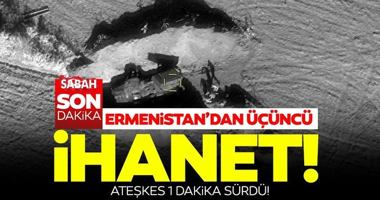 Sıcak bölgeden son dakika haberi: Azerbaycan Ermenistan arasında insani ateşkes başlar başlamaz ihlal edildi!