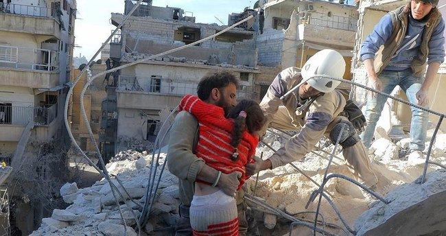 Halep'te yerleşim yerine saldırı: 4 ölü