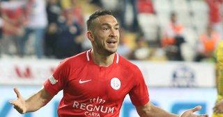 Antalyaspor'da Mevlüt Erdinç fırtınası