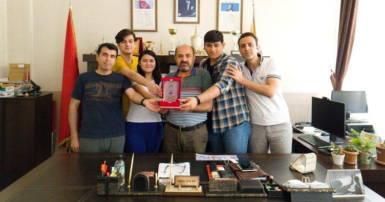 Şampiyon öğrenciler Ankara biletini kaptı