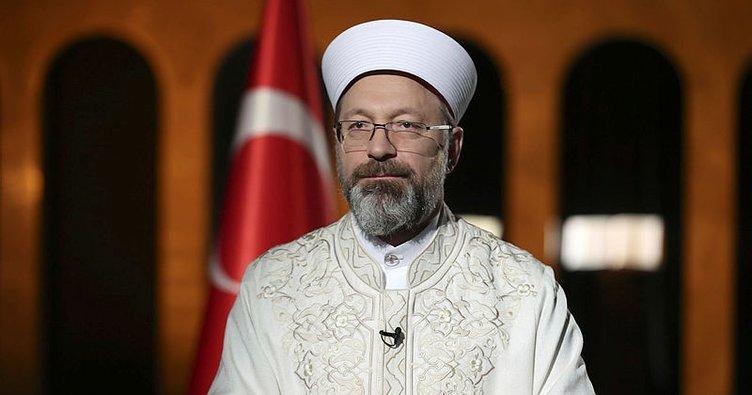 Diyanet İşleri Başkanı Ali Erbaş'tan Biden'a tepki: Milletimize atılmış bir iftiradır