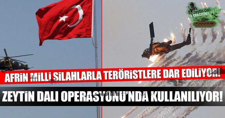 Zeytin Dalı operasyonu bu silahlarla yapılıyor! İşte Türkiye'nin yeni nesil yerli silahları...