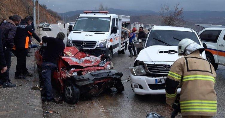 Tunceli'deki kazada karı koca hayatını kaybetti