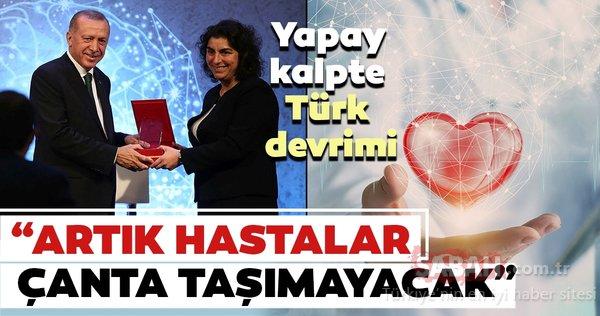 Yapay kalpte Türk devrimi : Artık hastalar çanta taşımayacak
