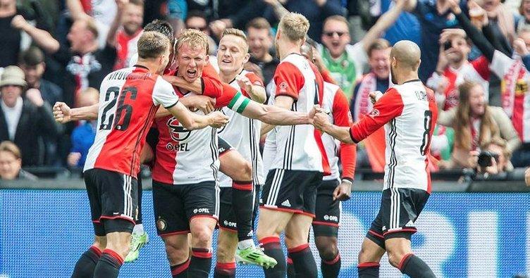 Kuyt Feyenoord'u zafere taşıdı