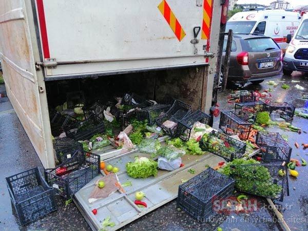 Maltepe'de zincirleme kaza! 8 araç birbirine girdi