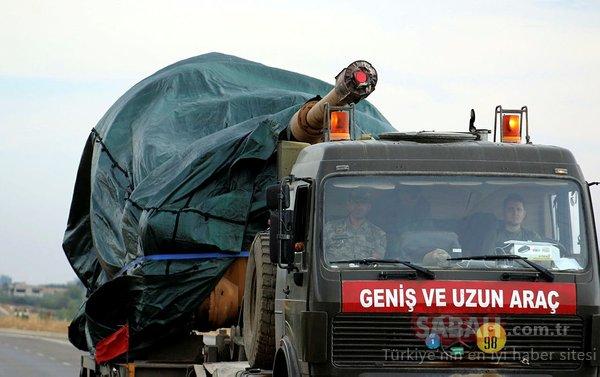 Son dakika: Hatay sınırına askeri sevkiyat sürüyor