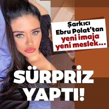 İmajını yenileyen şarkıcı Ebru Polat yeni mesleğini sosyal medyadan duyurdu!