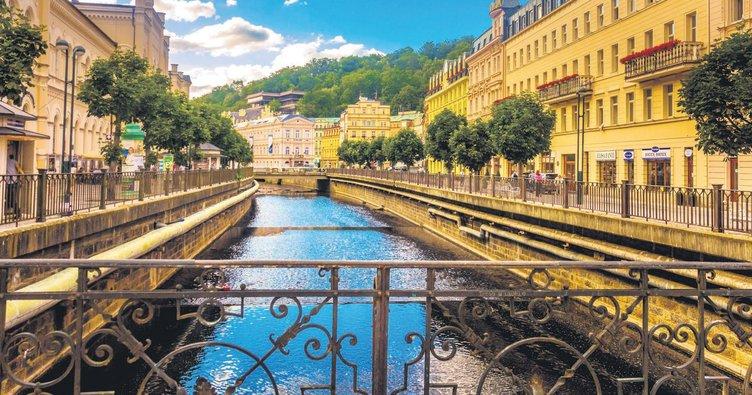 Şifalı şehir Karlovy Vary