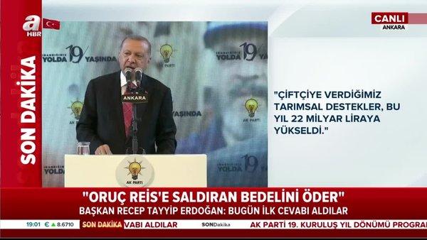 Başkan Erdoğan: