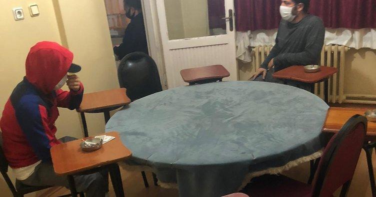 Ataşehir'de kumar oynayan şahıslara 83 bin lira ceza