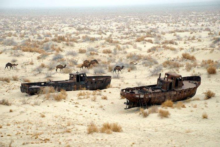Aral Gölü'nde çevre felaketi