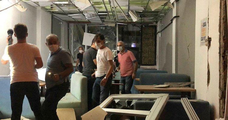 Yalova'da lokantadaki patlama korkuttu