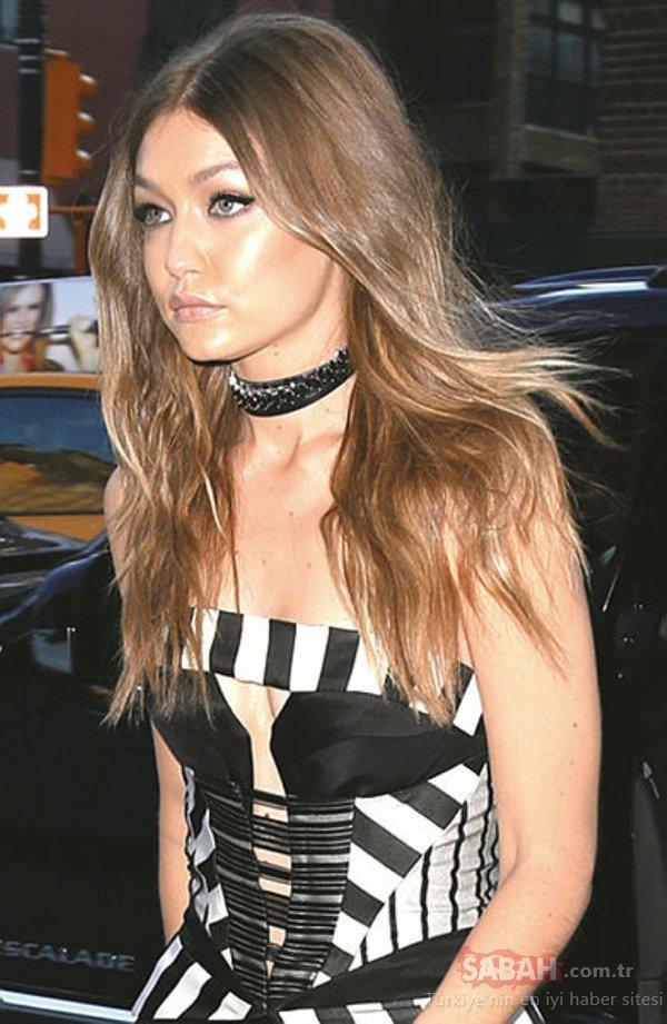 Dikkat çekici makyaj ve stiliyle dünden bugüne Gigi Hadid!