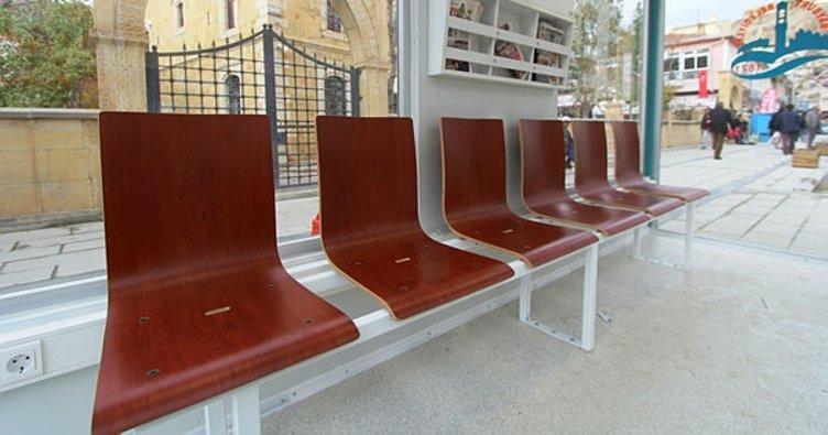 Isıtmalı otobüs duraklarına yenileri eklendi