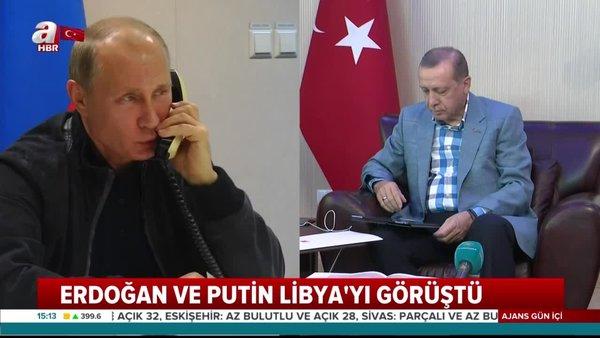 Cumhurbaşkanı Erdoğan Putin İle telefonda görüştü | Video