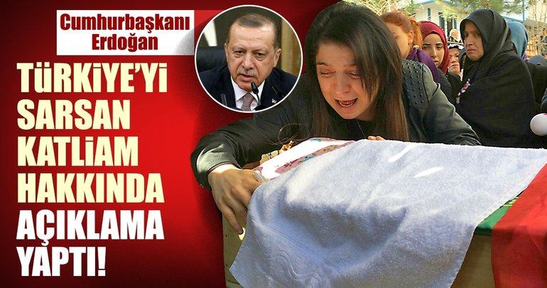 Erdoğan'dan Maltepe'deki katliam için yorum