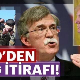 Son dakika: Trump'ın yeni Ulusal Güvenlik Danışmanı Bolton'dan YPG itirafı