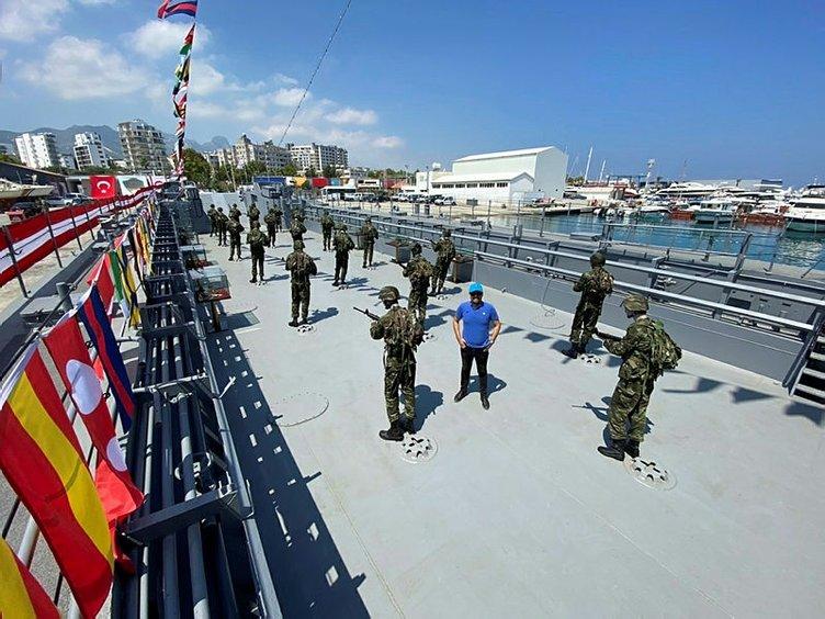 Kıbrıs'a umut ve barış götüren çıkarma gemisi 46 yıl sonra Ada'da