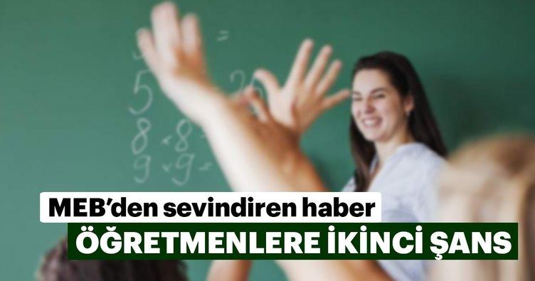 Öğretmenlere yer değişikliği için yeni bir hak verildi
