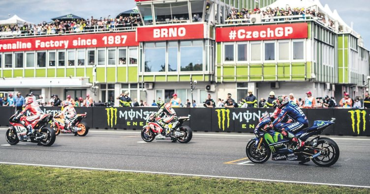 MotoGP rüzgar gibi geçti