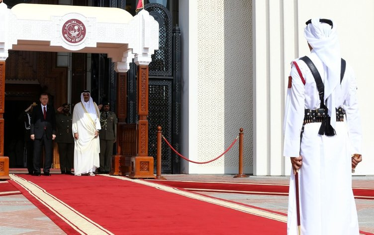 Cumhurbaşkanı Erdoğan Katar'da
