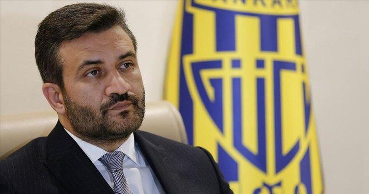 Ankaragücü Başkanı Fatih Mert: Tekrar istiyoruz