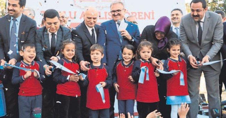 Anaokulunu Başbakan açtı