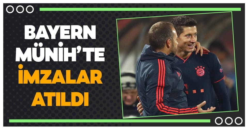 Bayern Münih, Hansi Flick'in sözleşmesini 2023'e kadar uzattı