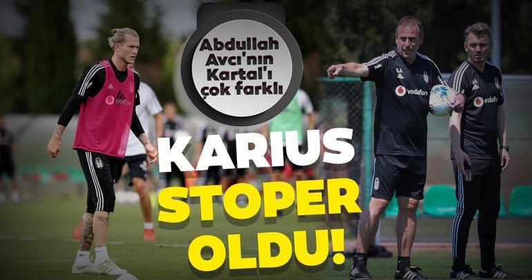Abdullah Avcı'nın Beşiktaş'ının oyun planında kilit isim Karius