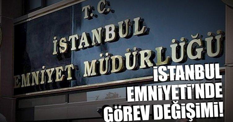 İstanbul Emniyeti'nde görev değişimi yapıldı