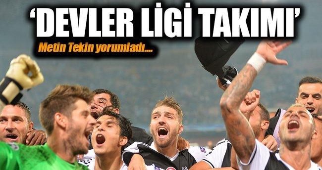 Metin Tekin Napoli-Beşiktaş maçını kaleme aldı: Devler ligi takımı!