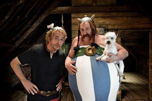 Asteriks ve Oburiks Gizli Görevde filminden kareler