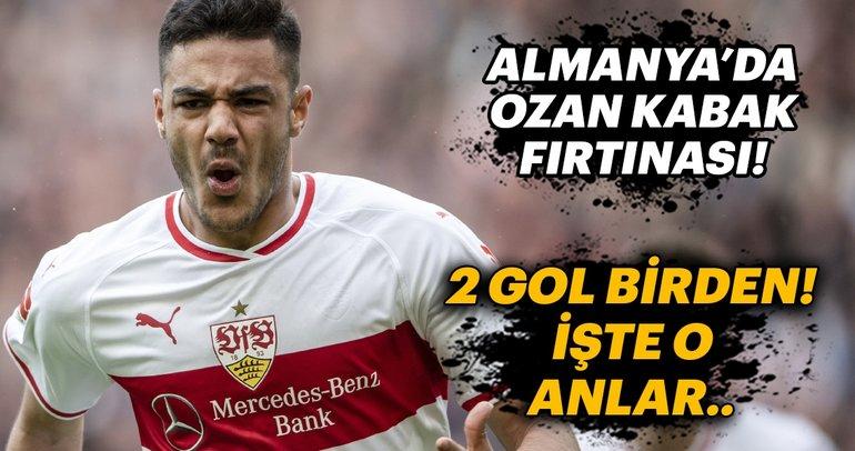 Almanya'da Ozan Kabak fırtınası! 2 gol birden