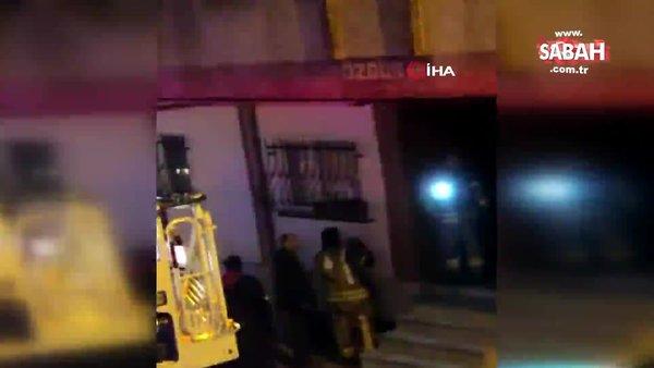 İstanbul Bahçelievler'de 6 katlı binada yangın | Video