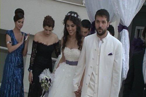 Gaye Turgut ile Deniz Evin evlendi