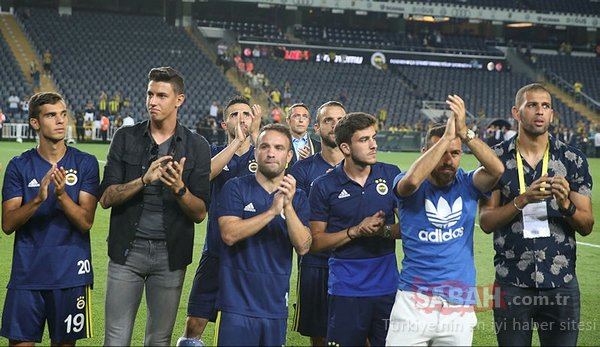 Fenerbahçe - Benfica maçından kareler