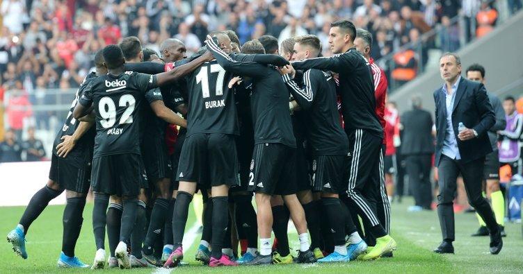 Beşiktaş galibiyet hasretini evinde bitirdi