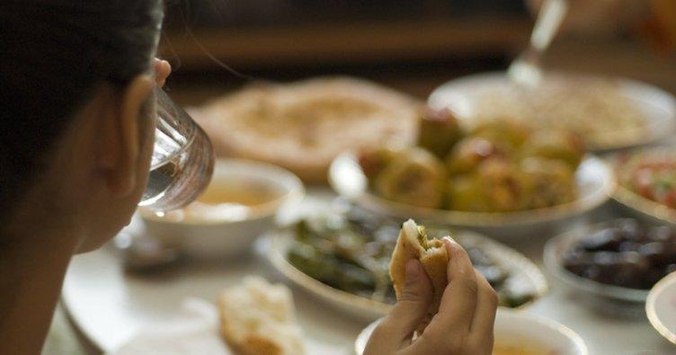 Ramazan ayında sağlıklı beslenmeye dikkat
