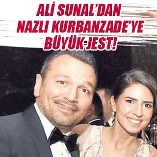 Ali Sunal'dan Nazlı Kurbanzade'ye büyük jest