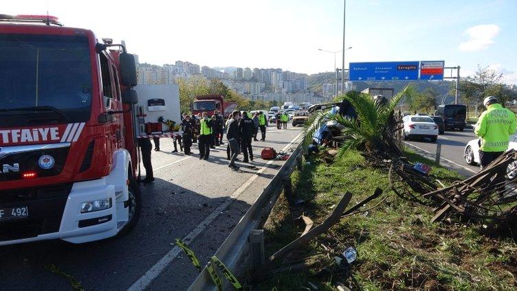 Trabzon'da feci kaza! Ölü ve yaralılar var