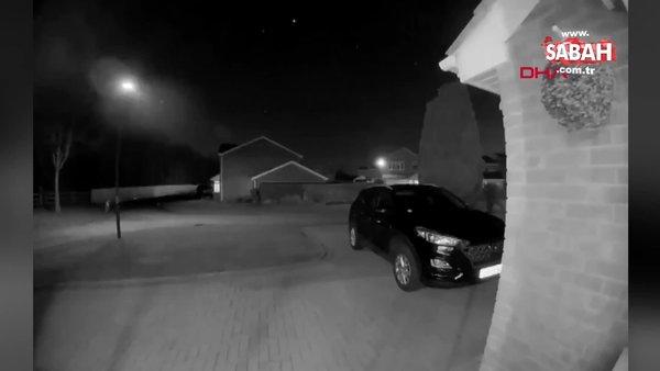 SON DAKİKA: İngiltere'de dev meteorun düşüş anı görüntüleri ortaya çıktı | Video