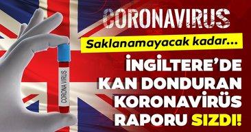 Son Dakika Haberi | Corona virüsü İngiltere'de kan donduran rapor sızdı! Corona virüsü aylarca devam ederse...