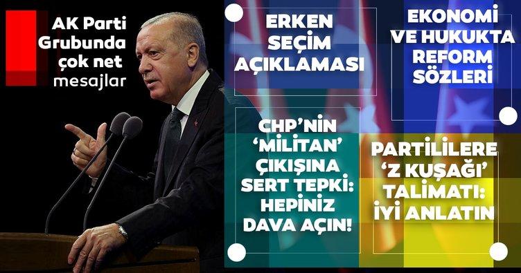 Son dakika: Başkan Erdoğan'dan reform paketi açıklaması