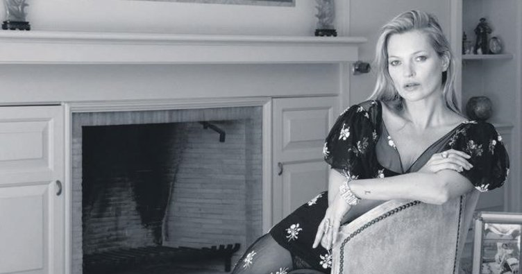Kate Moss dokunuşuyla moda