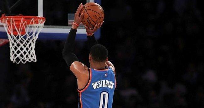 Westbrook durdurulamıyor!